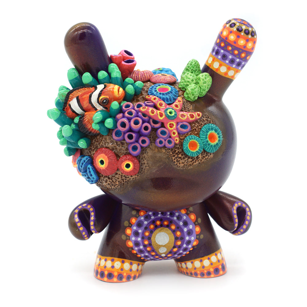 "No. 09 - The Clown Fish 5"" Custom Dunny by MP Gautheron - Series 4"