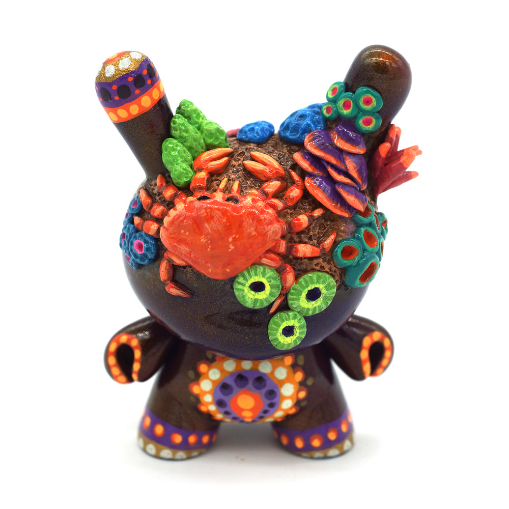 "No. 02 - The Crab 3"" Custom Dunny by MP Gautheron - Series 4"