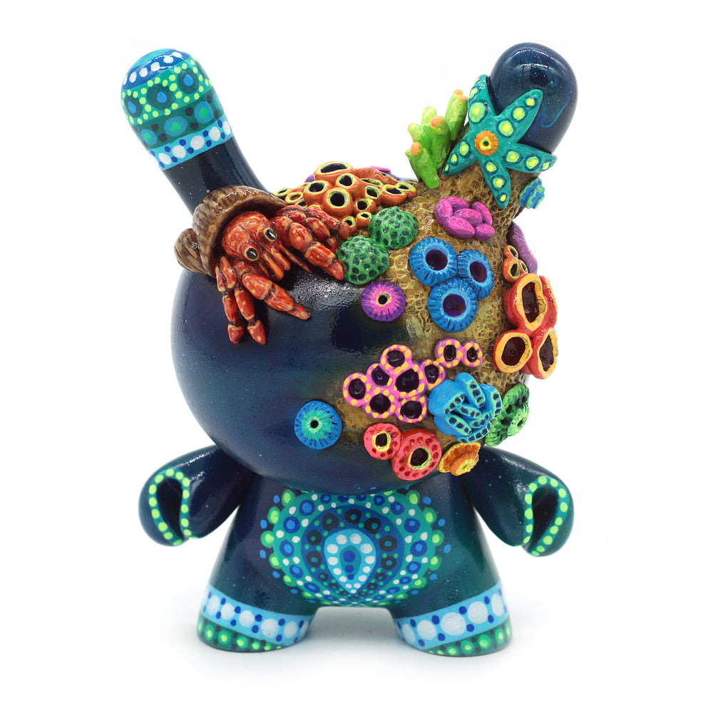 "No. 06 - The Hermit Crab 5"" Custom Dunny by MP Gautheron - Series 4"