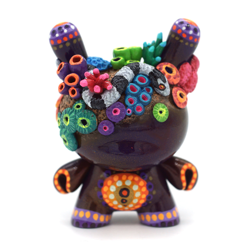 "No. 04 - The Snake 3"" Custom Dunny by MP Gautheron - Series 4"