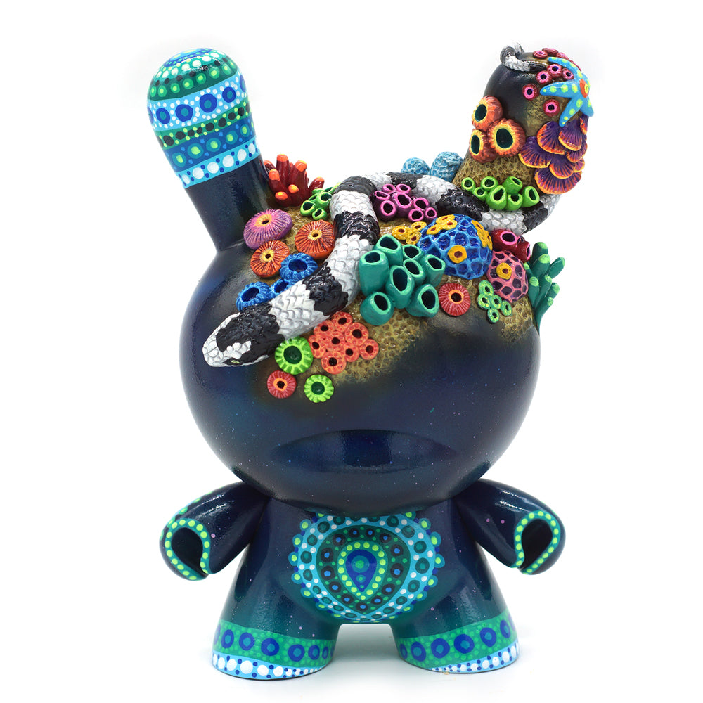 "No. 11 - The Snake 8"" Custom Dunny by MP Gautheron - Series 4"