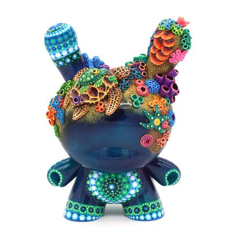"No. 12 - The Turtles 8"" Custom Dunny by MP Gautheron - Series 4"