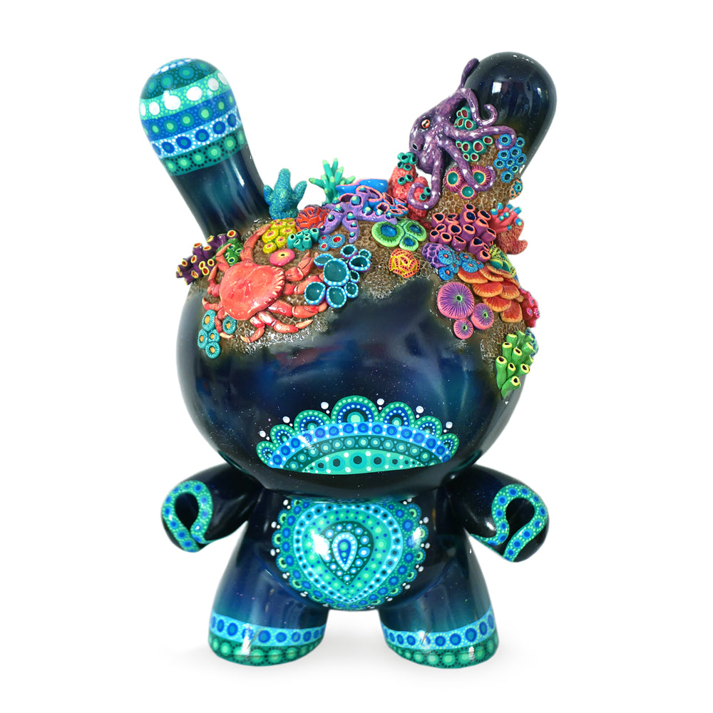 "No. 01 - Underwater 20"" Custom Dunny by MP Gautheron - Series 4 - Kidrobot"