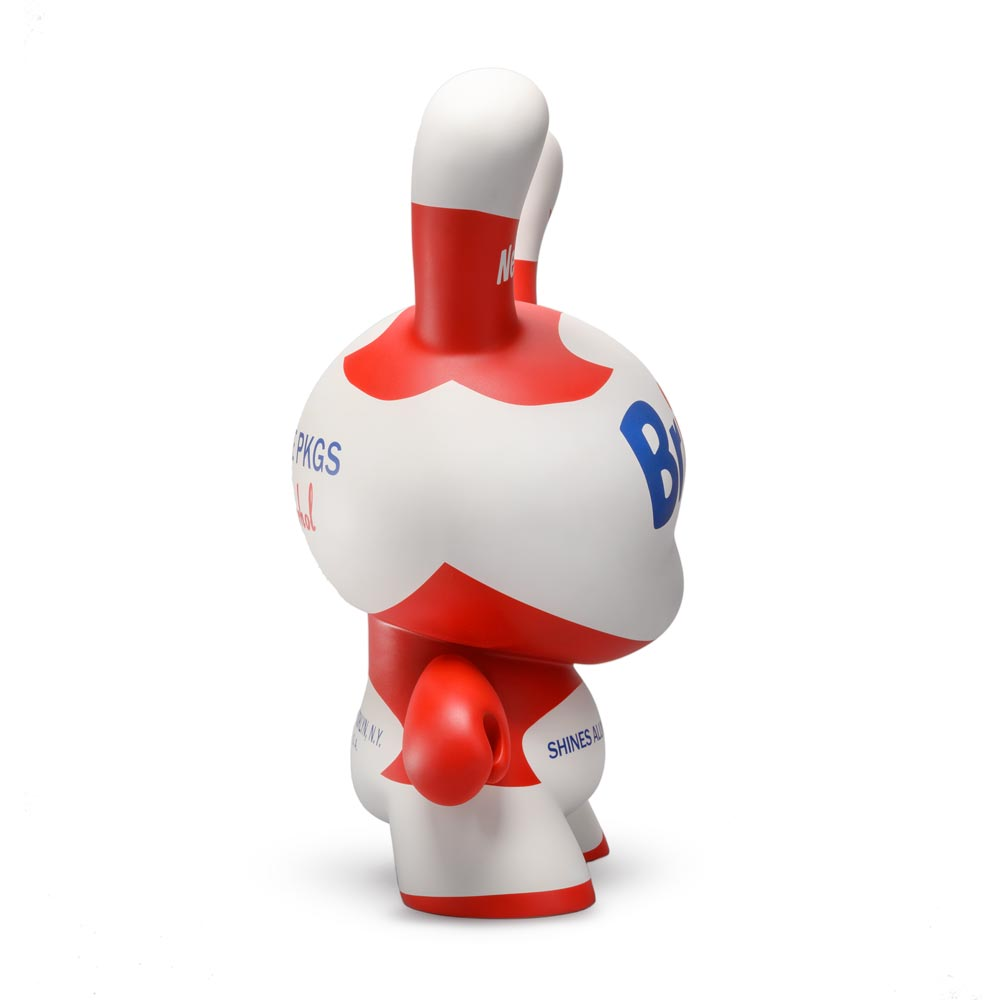 "Andy Warhol 20"" White Brillo Dunny Sculpture by Kidrobot - Kidrobot - Designer Art Toys"
