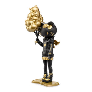 "Hello Kitty 9"" Art Figure by Candie Bolton - Golden Gloom Edition - Kidrobot x Sanrio - Kidrobot - Designer Art Toys"