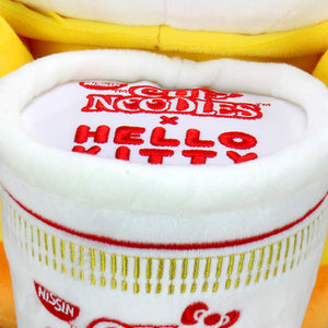 Nissin Cup Noodles x Hello Kitty® Chicken Cup Medium Plush - Kidrobot - Designer Art Toys