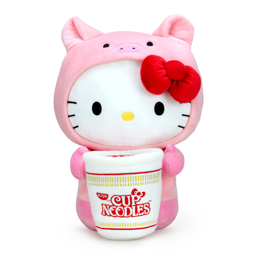 Nissin Cup Noodles x Hello Kitty® Pork Cup Medium Plush - Kidrobot - Designer Art Toys