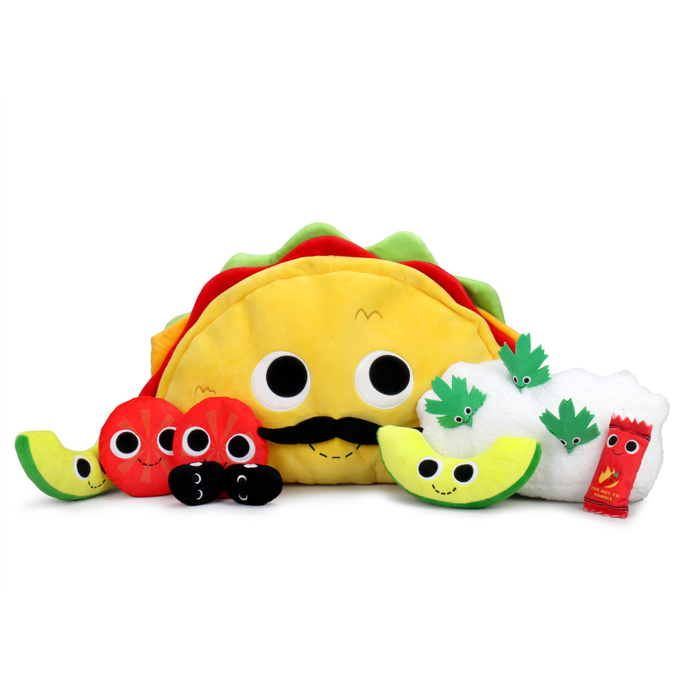 Yummy World XL Victorio Veggie Taco Plush Set - Kidrobot
