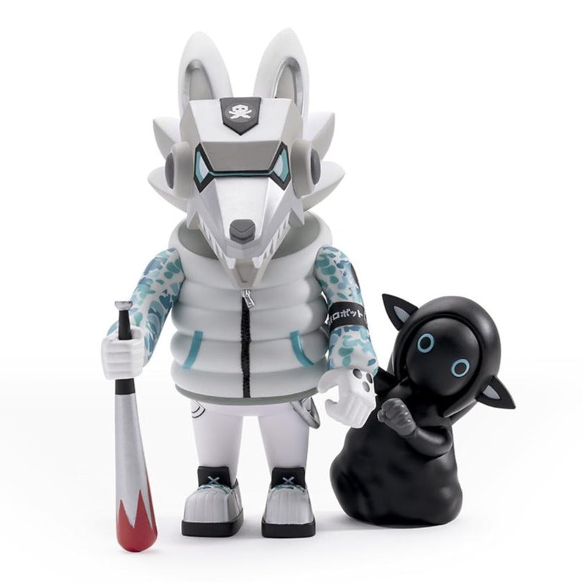 Ukami x Hitsuji Art Figure by Quiccs - Kidrobot.com Exclusive White Edition - Kidrobot - Designer Art Toys