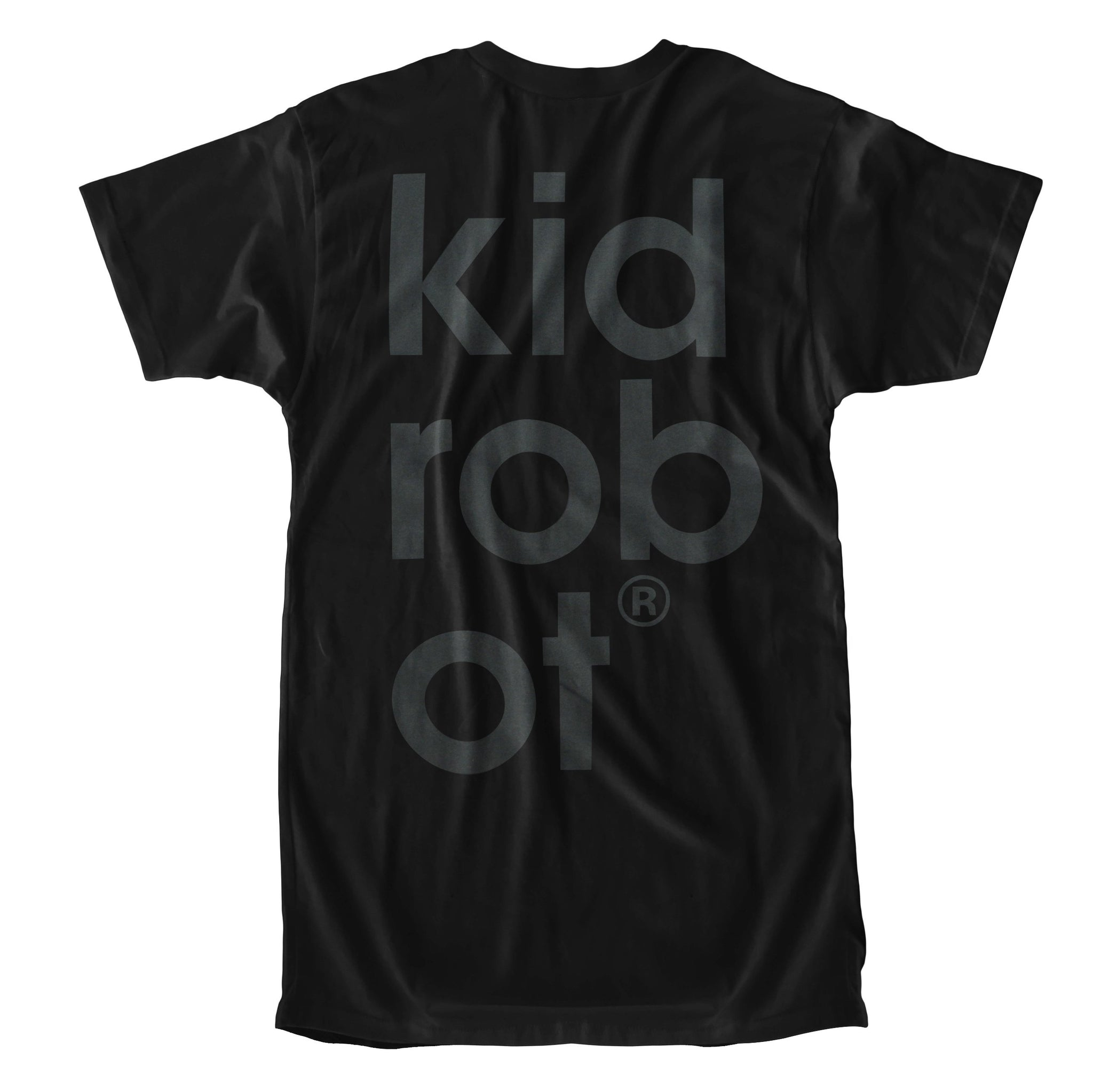 Limited Edition Kidrobot BOTS Black on Black T-Shirt (S-XXL) - Kidrobot - Designer Art Toys