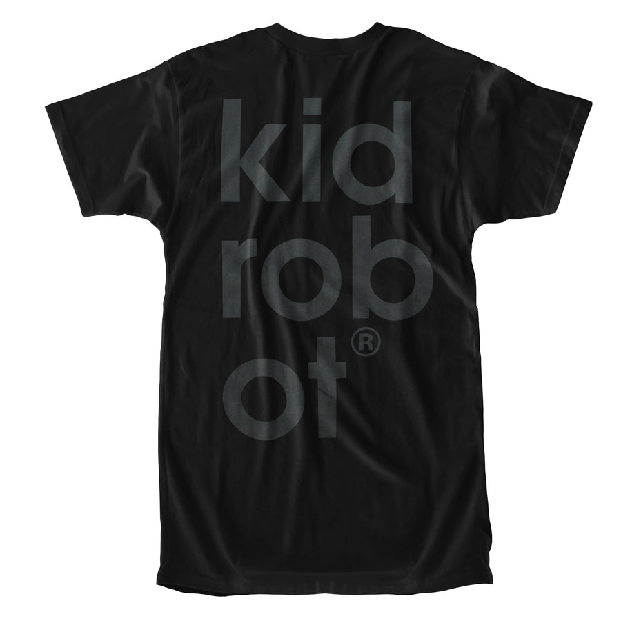 Cotton - Limited Edition Kidrobot BOTS Black On Black T-Shirt (S-XL)