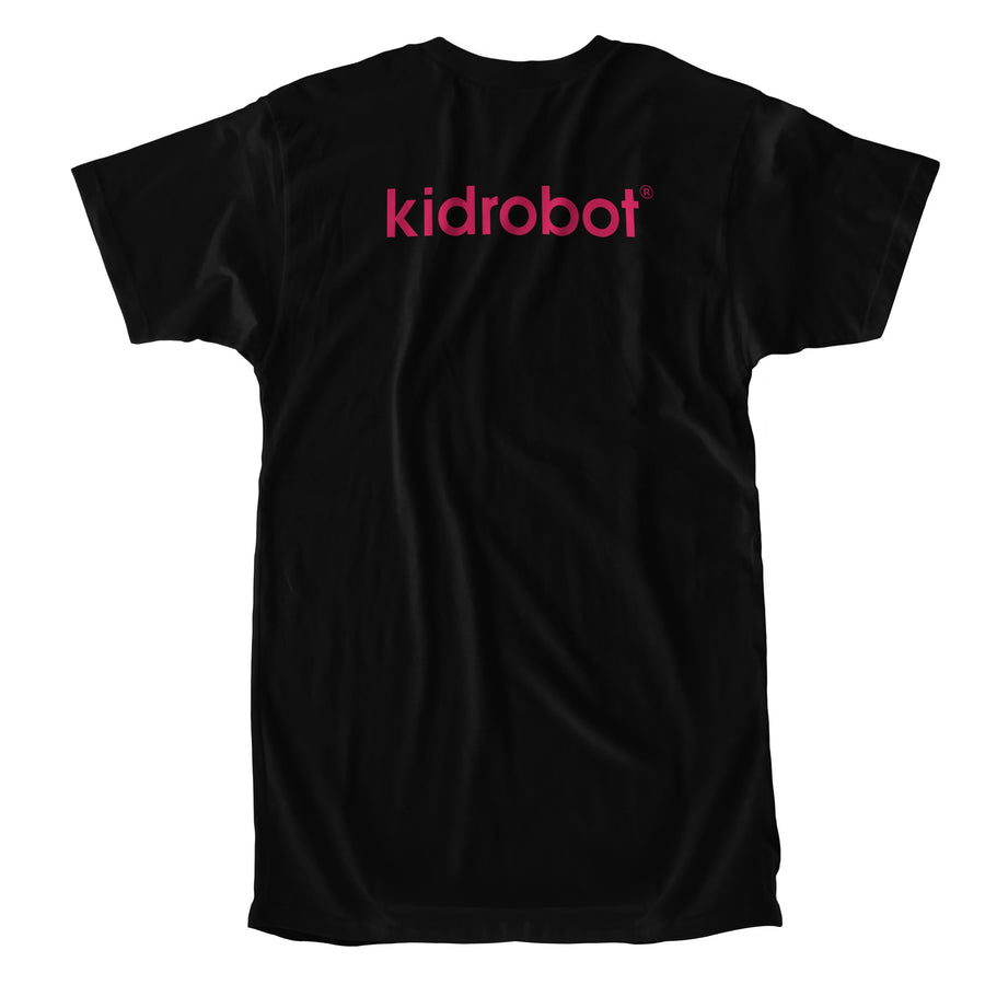 Cotton - Limited Edition Kidrobot Signature Magenta Bothead Black T-Shirt (S-XL)