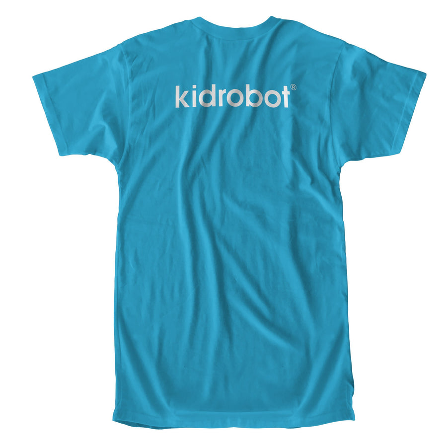 Cotton - Limited Edition Kidrobot Signature White Bothead Sapphire T-Shirt (S-XL)