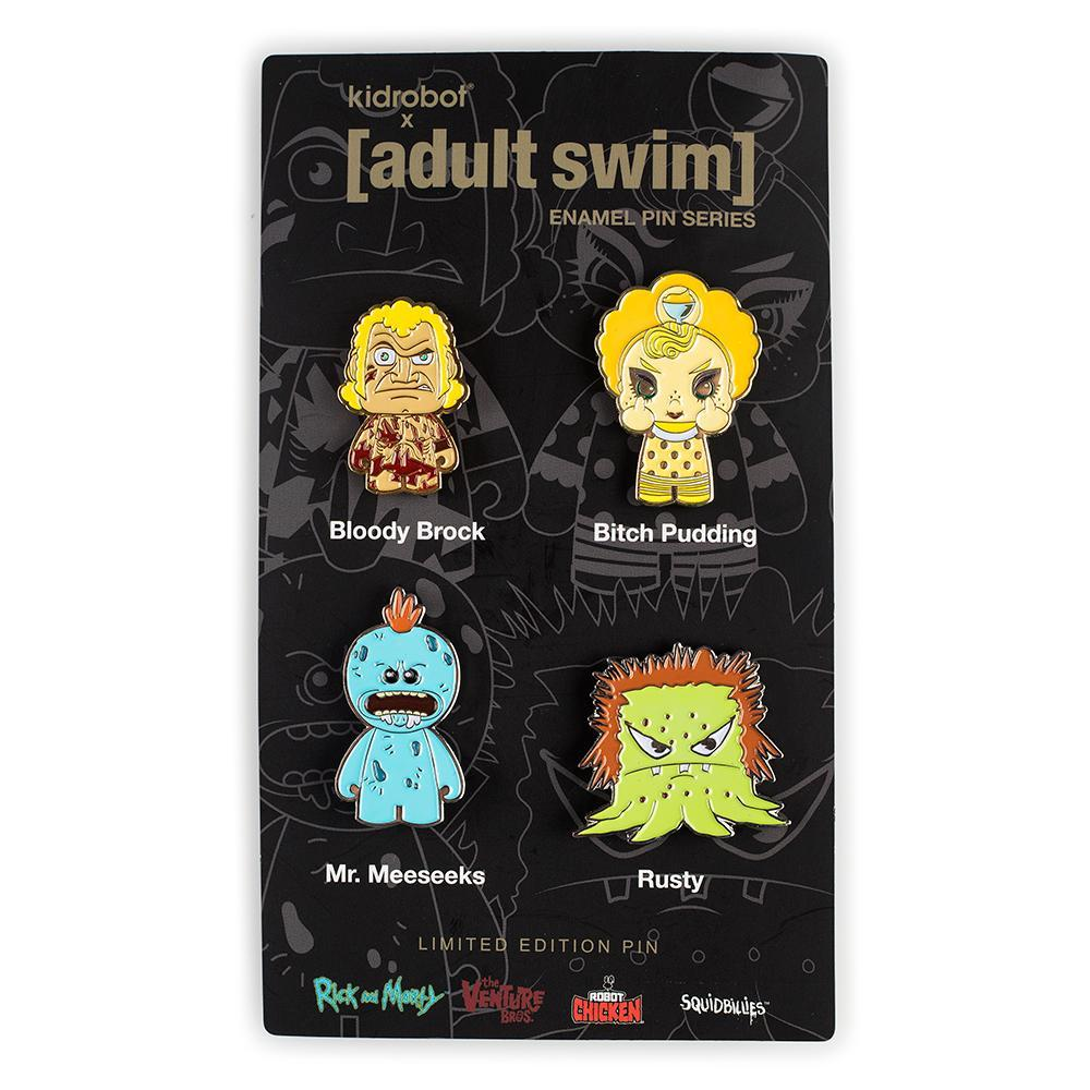 Enamel - Adult Swim Enamel Pin 4-Pack