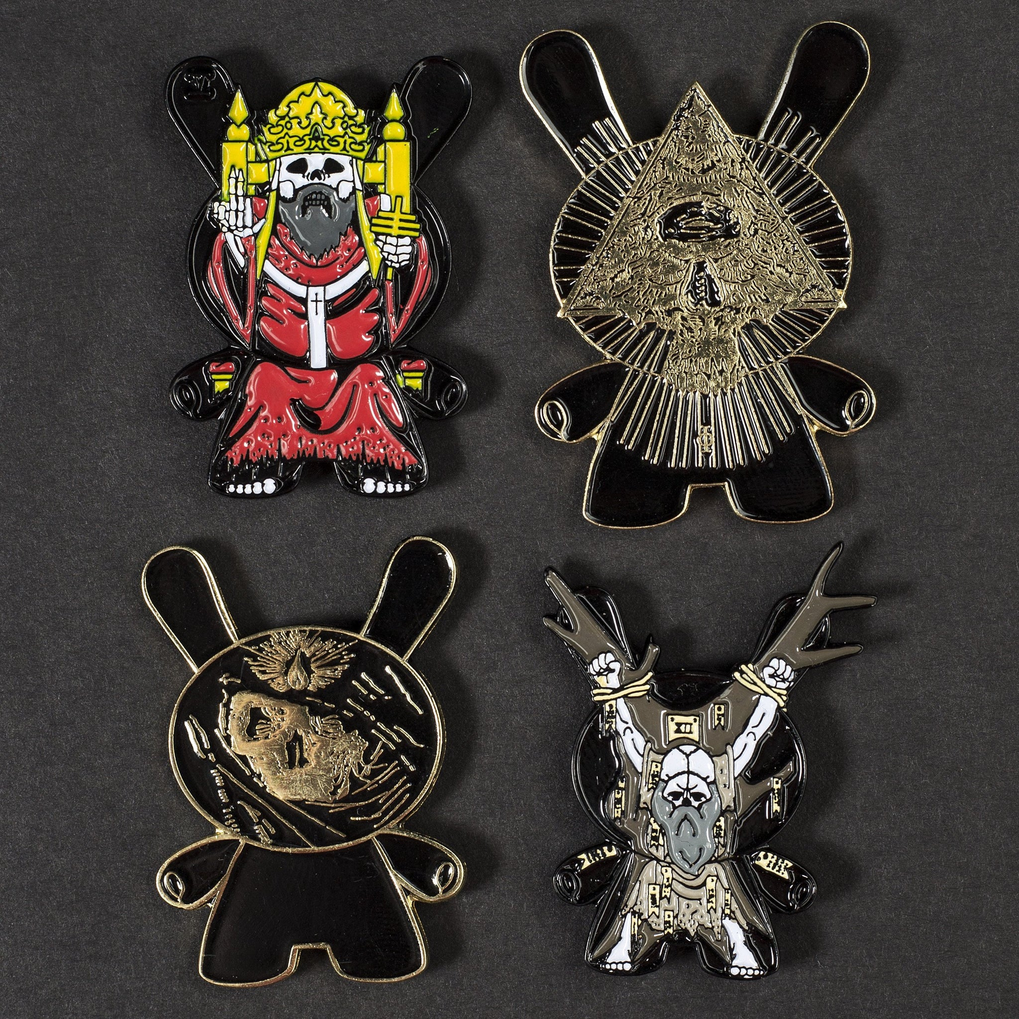 The Magician Kidrobot Arcane Divination Metal Enamel Pin Series 1