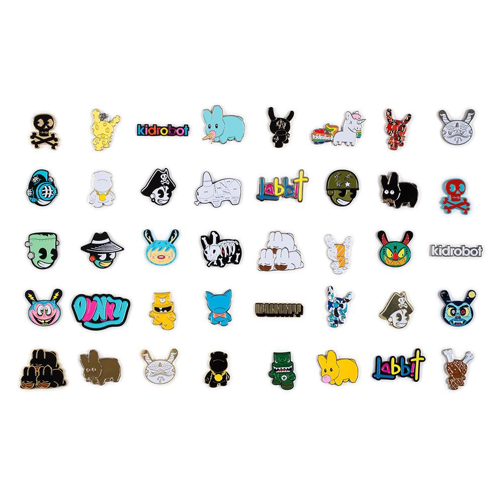 Kidrobot Pinning and Winning Enamel Pin Series 2 - Kidrobot - Designer Art Toys