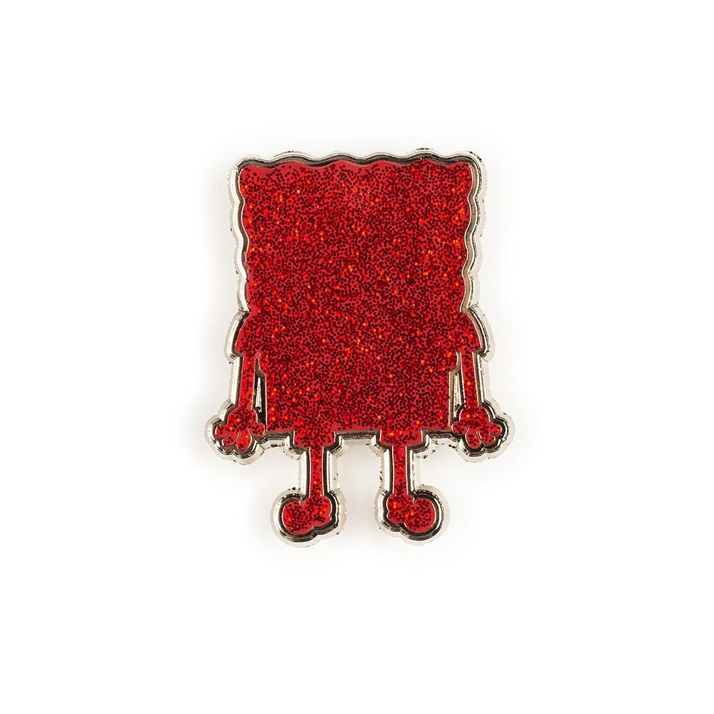 (Spongebob)RED Collectible Enamel Pin Set by Kidrobot - Kidrobot