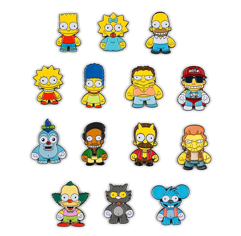The Simpsons Enamel Pin ...