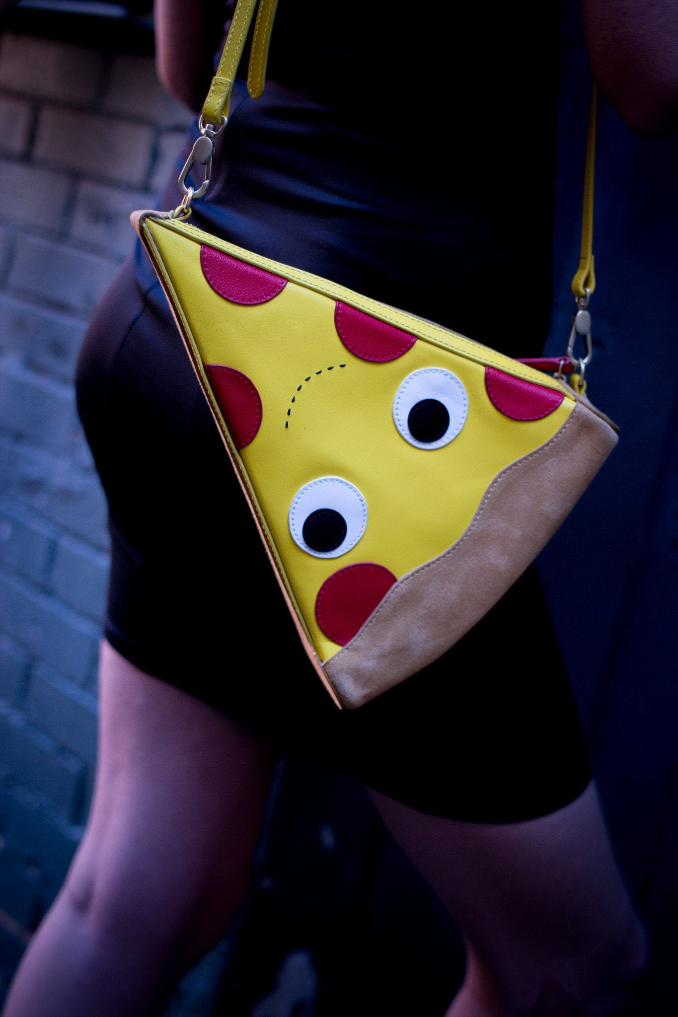 Yummy World Leather Pizza Clutch Purse Bag - Kidrobot - 10