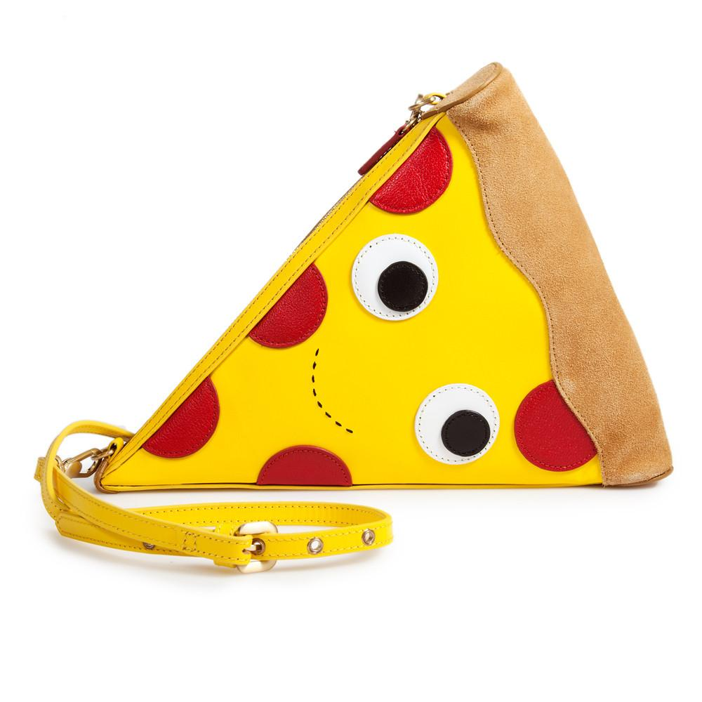 Yummy World Leather Pizza Clutch Purse Bag - Kidrobot - 1