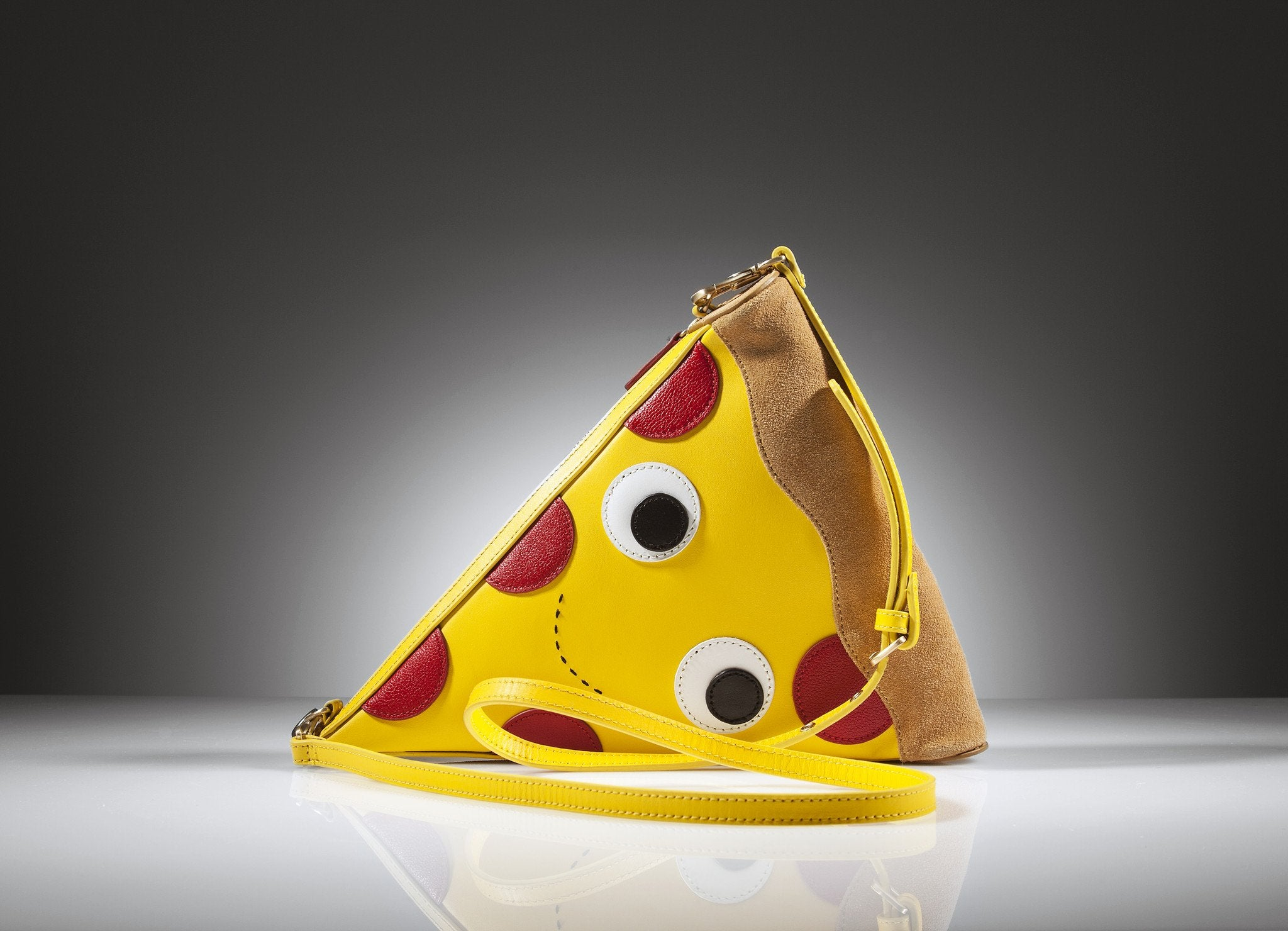Yummy World Leather Pizza Clutch Purse Bag - Kidrobot - 2