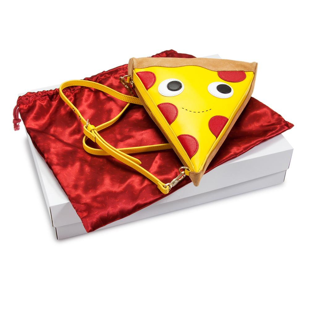 Yummy World Leather Pizza Clutch Purse Bag - Kidrobot - 5