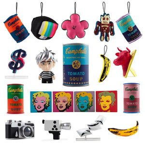 Andy Warhol Campbell's Soup Can Mystery Mini Figure Series - Kidrobot