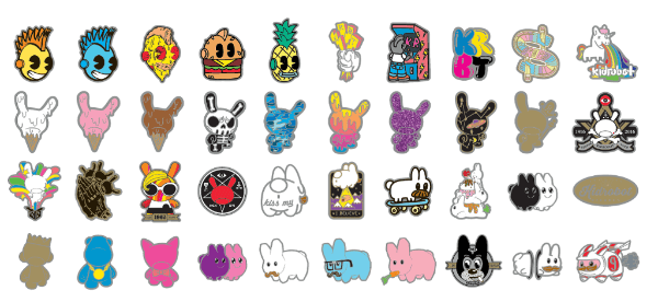 Pinning & Winning Blind Box Enamel Pin Series - Kidrobot - Designer Art Toys