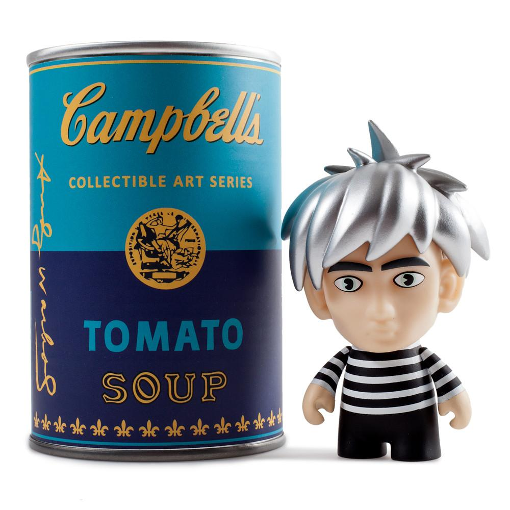 Andy Warhol Campbell's Soup Can Mystery Warhol Art Figure Series - Kidrobot
