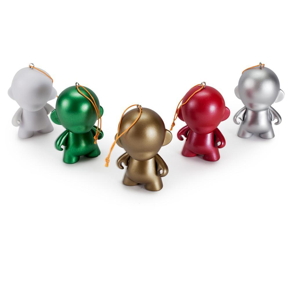 Customizable DIY MUNNY World Ornaments by Kidrobot (5-Pack) - Kidrobot - Designer Art Toys