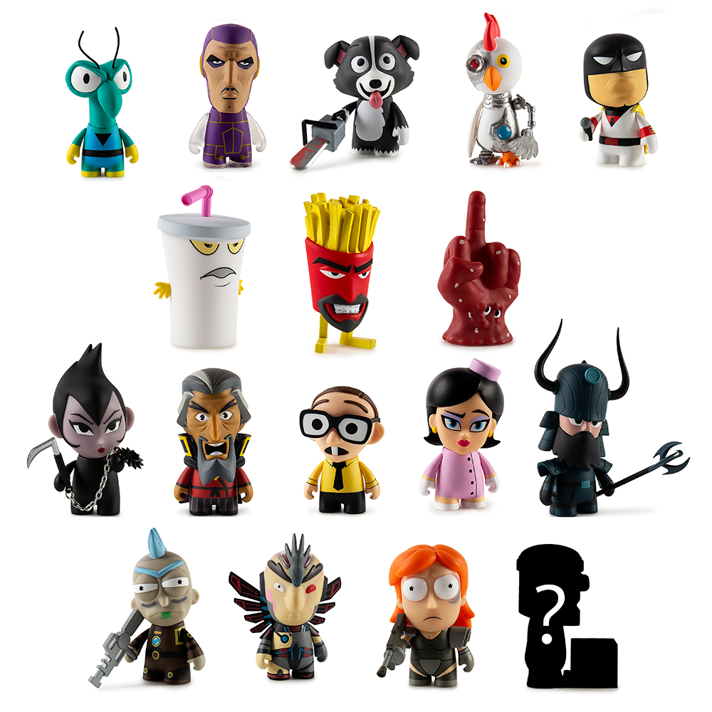 Adult Swim Blind Box Vinyl Mini Figure Series 2 by Kidrobot - Kidrobot - Designer Art Toys