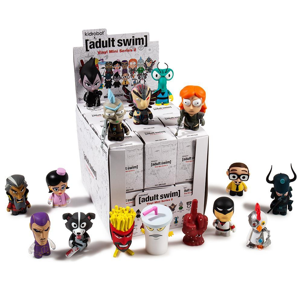 Adult Swim Blind Box Vinyl Mini Figure Series 2 By Kidrobot