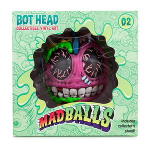 "Kidrobot Bot Head Madballs 6"" Collectible Vinyl Figure - Kidrobot - Designer Art Toys"