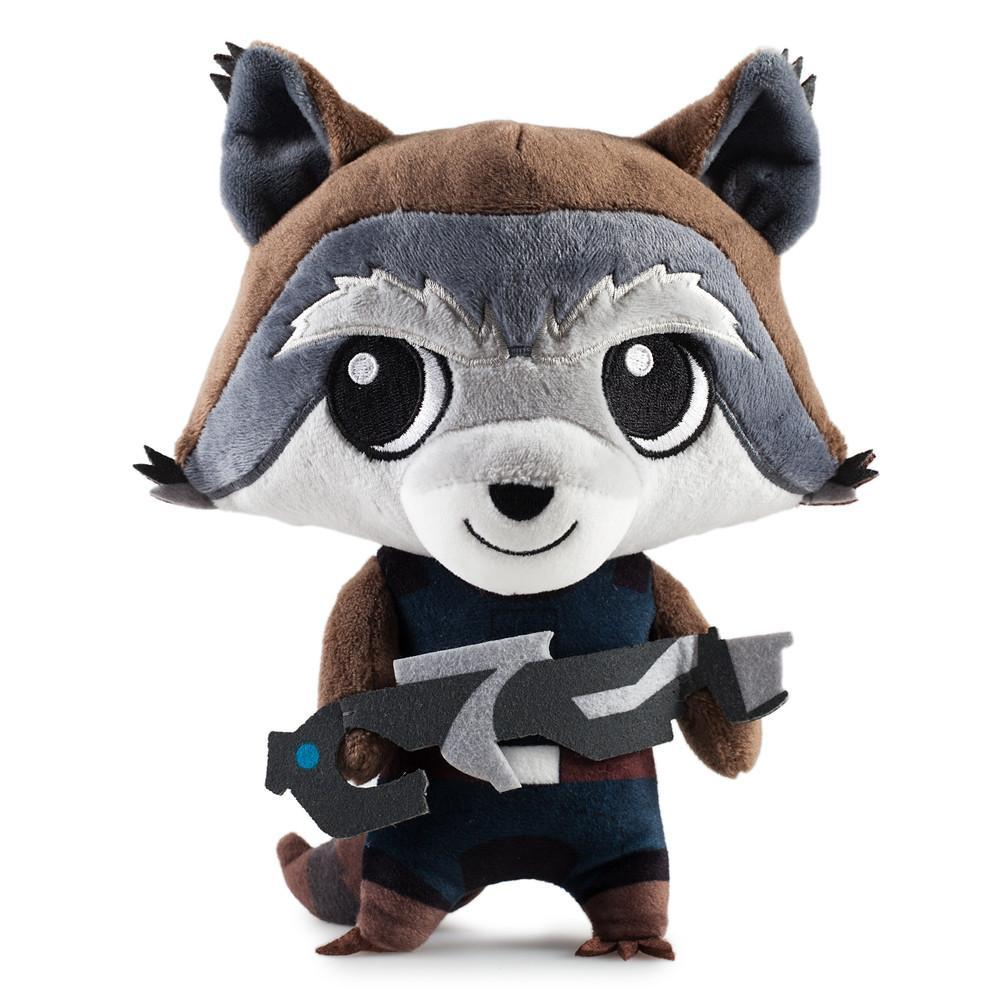 Rocket Raccoon Guardians of the Galaxy Phunny Plush - Kidrobot - Designer Art Toys