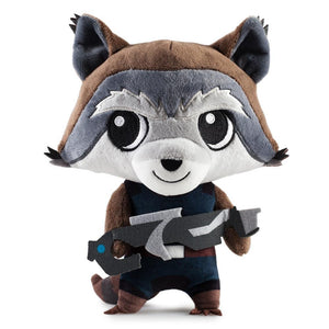 None - Rocket Raccoon Guardians Of The Galaxy Phunny Plush
