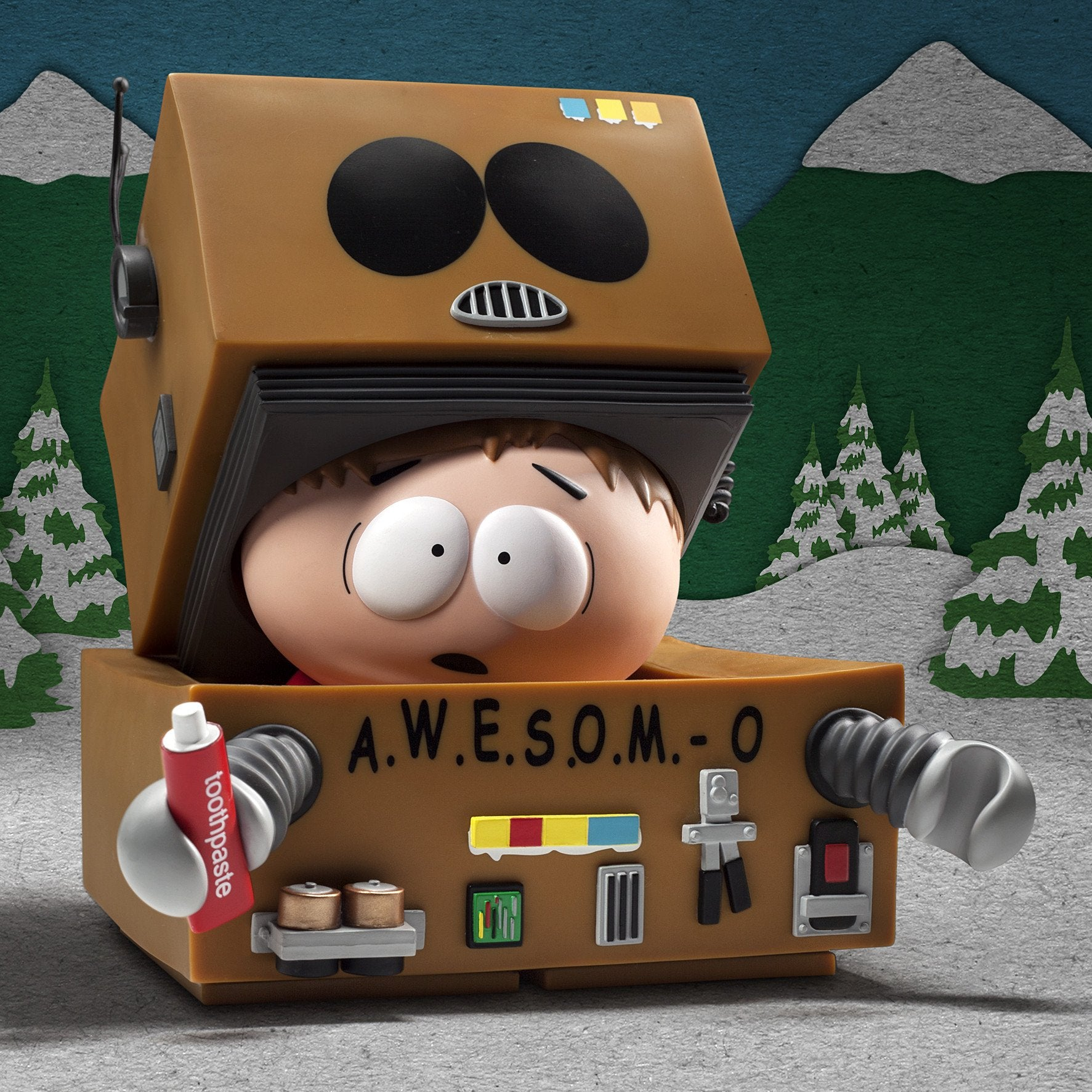 South Park AWESOMO Cartman Designer Toy Figure by Kidrobot - Kidrobot - Designer Art Toys