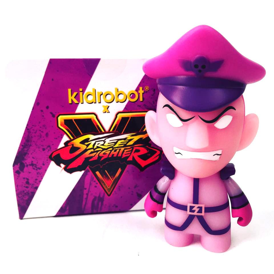 Street Figher Ultimate Pyscho Crusher M Bison Mini Figure - Kidrobot