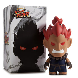 "Street Fighter Akuma 7"" Medium Figure - Kidrobot - 1"