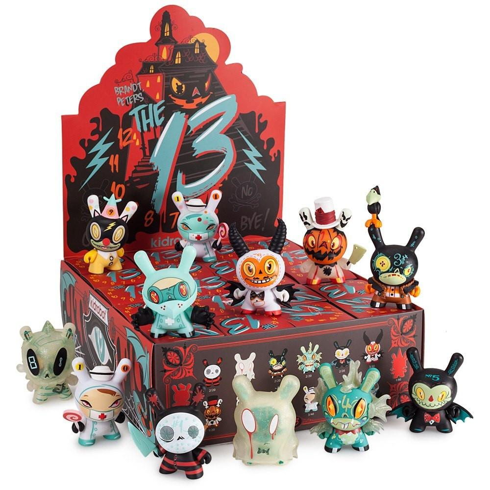 """The 13"" Dunny Series by Brandt Peters - Kidrobot - Designer Art Toys"