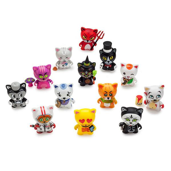 None tricky cats blind box 3 mini series 1