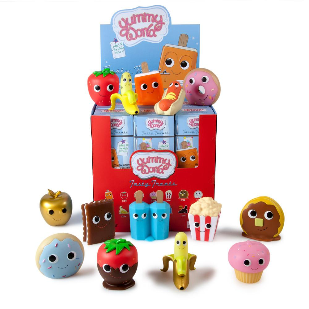 Yummy World Tasty Treats Blind Box Vinyl Mini Series - Kidrobot