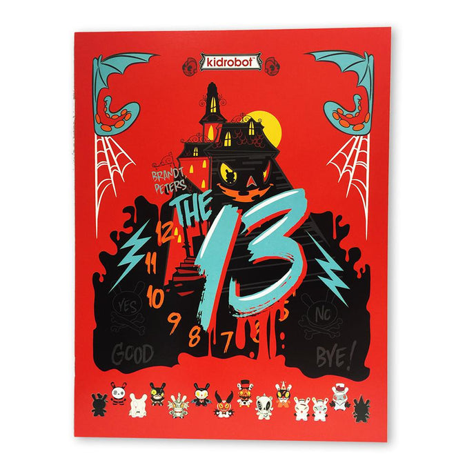 """The 13"" Coloring Book by Brandt Peters - Kidrobot - Designer Art Toys"