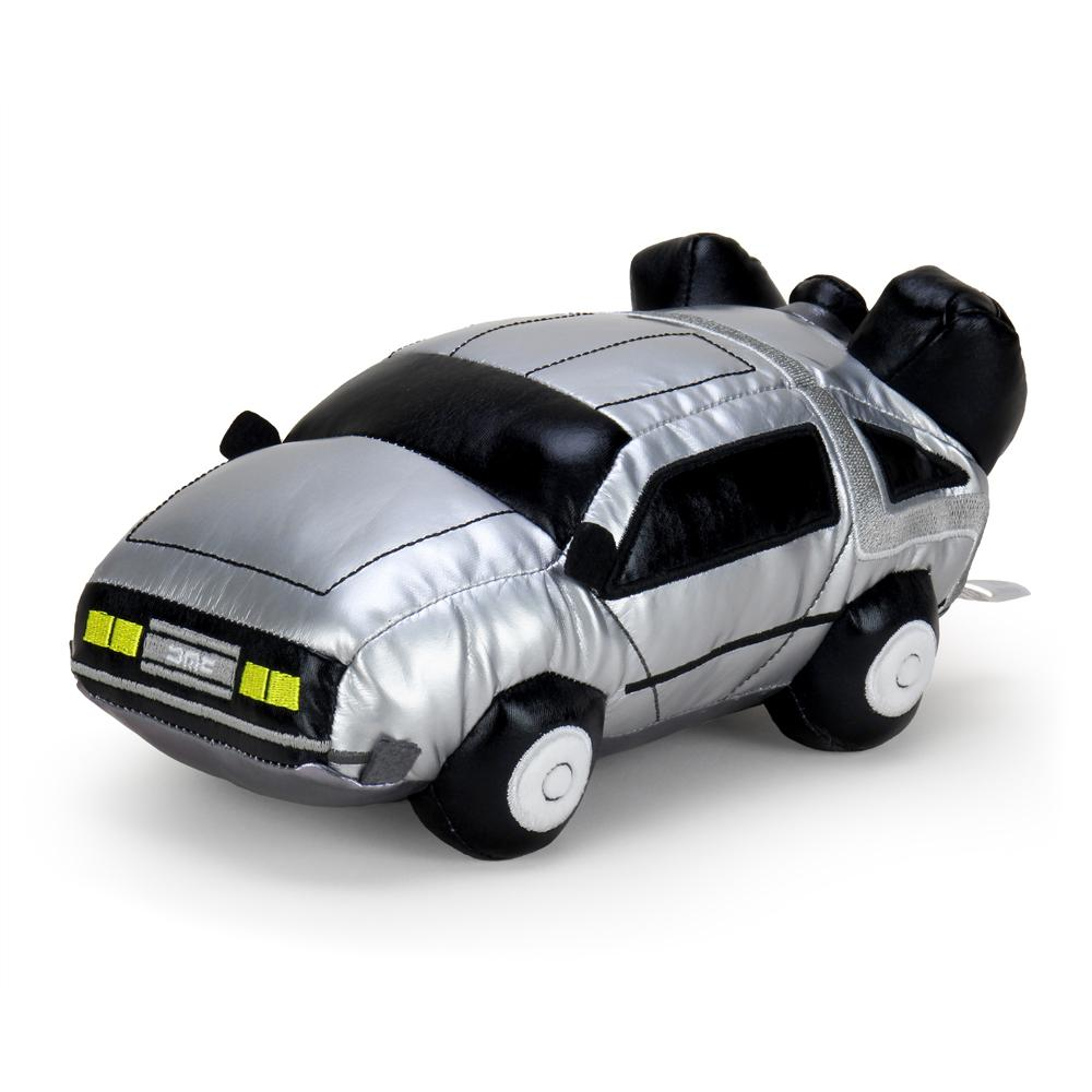 "Back to the Future 11"" DeLorean Time Machine Plush - Kidrobot - Designer Art Toys"