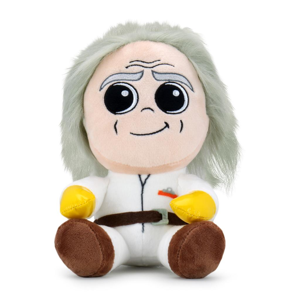Back to the Future Doc Brown Phunny Plush - Kidrobot - Designer Art Toys