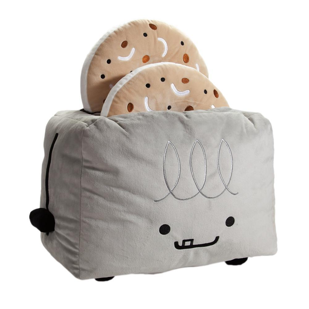 BFFs Love Hurts El Tostador Toaster & Lenny the Bagel Plush - Kidrobot - Designer Art Toys