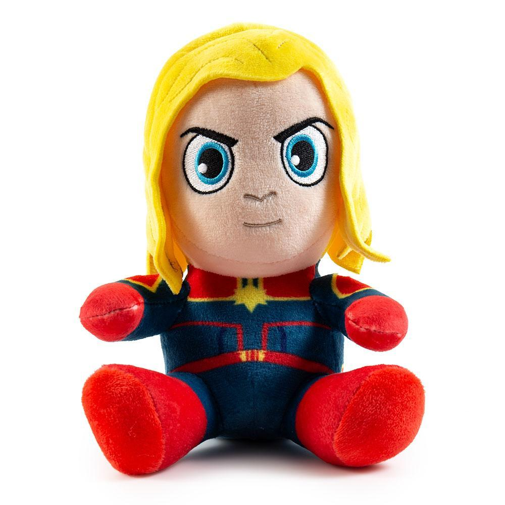 Captain Marvel Phunny Plush by Kidrobot - Kidrobot
