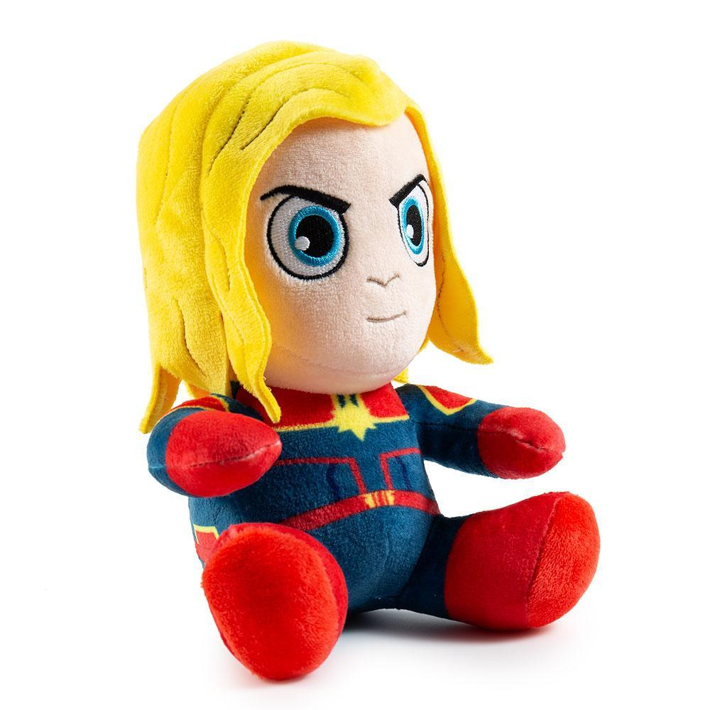 Captain Marvel Phunny Plush by Kidrobot - Kidrobot - Designer Art Toys