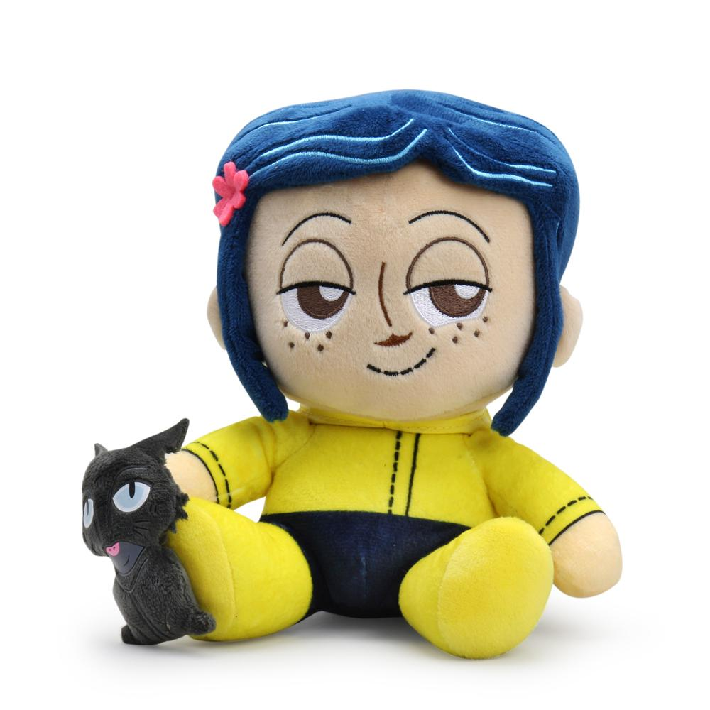 Coraline And The Cat Plush Phunny By Kidrobot Kidrobot