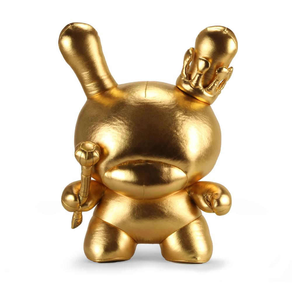 Gold King 20-inch Plush Dunny by Tristan Eaton - Kidrobot - Designer Art Toys