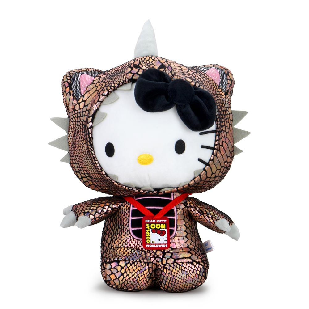 Hello Kitty Cosmos Kaiju Cosplay Plush - Black Hole Edition - Kidrobot - Designer Art Toys